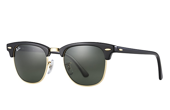 9f761f7775 Ray-Ban Clubmaster Classic sunglasses are retro and timeless. Inspired by  the 50 s
